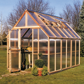 8'x12' Sunshine Mt Rainier Home Greenhouse