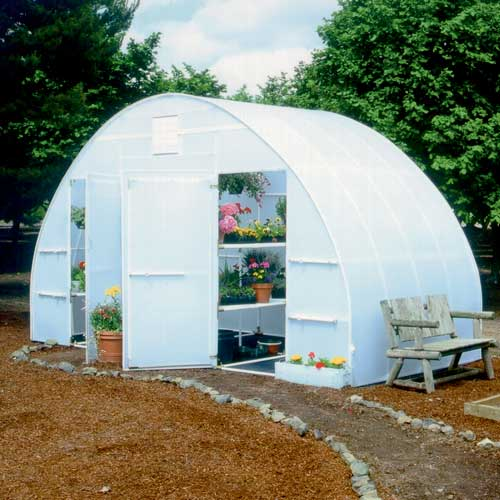 16'  x 16' Solexx Conservatory Hobby Greenhouse Kit