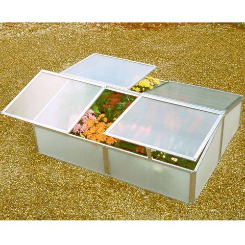 Double Cold Frame Greenhouse