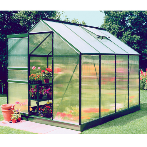 Hall's Popular 6'x8' Greenhouse Kit