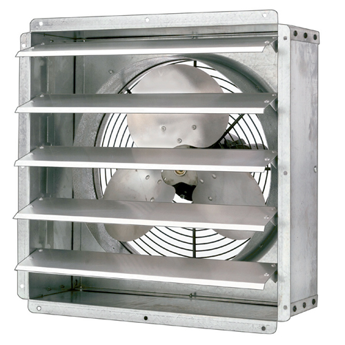 "17"" Exhaust Fan with Thermostat 1570 CFM"
