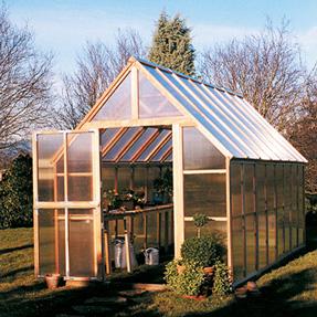 8'x16' Sunshine Mt Rainier Home Greenhouse