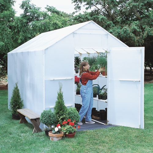 8' x 12' Solexx Garden Master Backyard Greenhouse