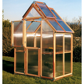 6'x4' Sunshine Mt Hood Home Greenhouse