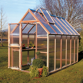6'x12' Sunshine Mt Hood Home Greenhouse