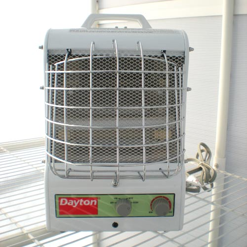 Dayton Portable Electric Space Heater