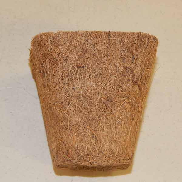 "3"" Coir Fiber Biodegradable Pots"