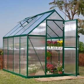 6' x 8' Mythos Greenhouse Kit