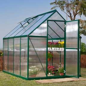 6' x 8' Mythos Greenhouse Kit