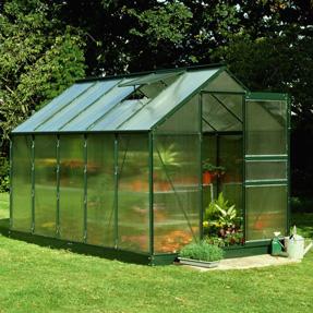 Hall's Popular 6'x10' Greenhouse Kit