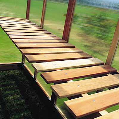"4' x 21"" Greenhouse Bench (Sunshine)"