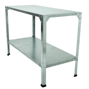 2-Level Galvanized Potting Bench