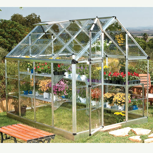6' x 8' Snap and Grow Cold Frame Greenhouse
