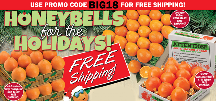 Free Shipping on Honeybells