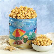 Beach Party Popcorn Tin