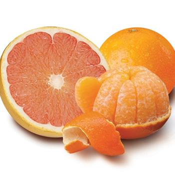 Honey Tangerines & Ruby Reds