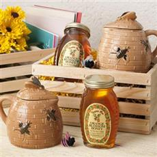 Orange Blossom Honey Pot