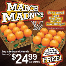 March Madness Navel Special