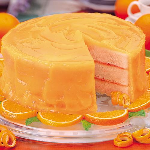 Very Orange Cake