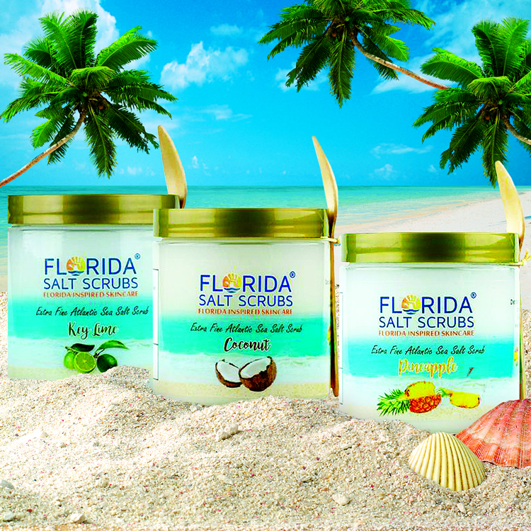 Free Shipping!  Florida Salt Scrubs