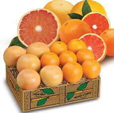 Ruby Red Navels & Ruby Red Grapefruit - 2 Trays Ruby Red Navels & Grapefruit