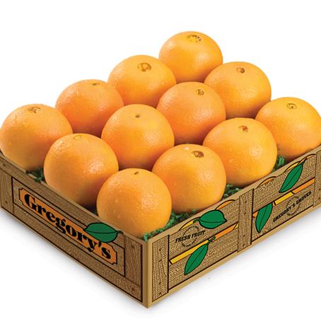 White Navel Oranges