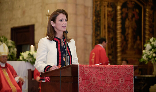 Misa de Acción de Gracias, Ligia Bonetti