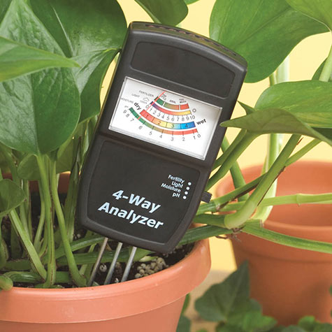 Four-Way Soil Analyzer