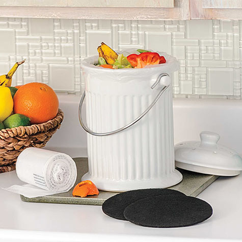 Kitchen Composting Made Easy!