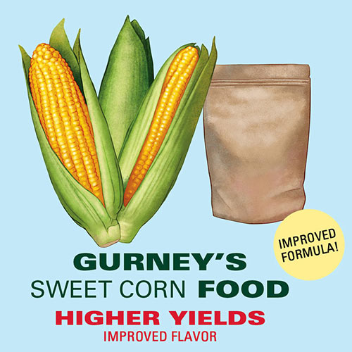 Gurney's<sup>®</sup> Sweet Corn Food - Fertilizer