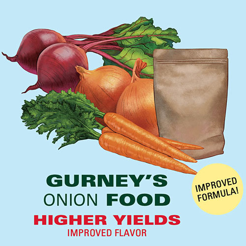 Gurney's<sup>®</sup> Onion Food - Fertilizer