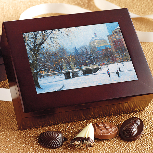Keepsake Box Business Chocolate Gift - Harbor Sweets