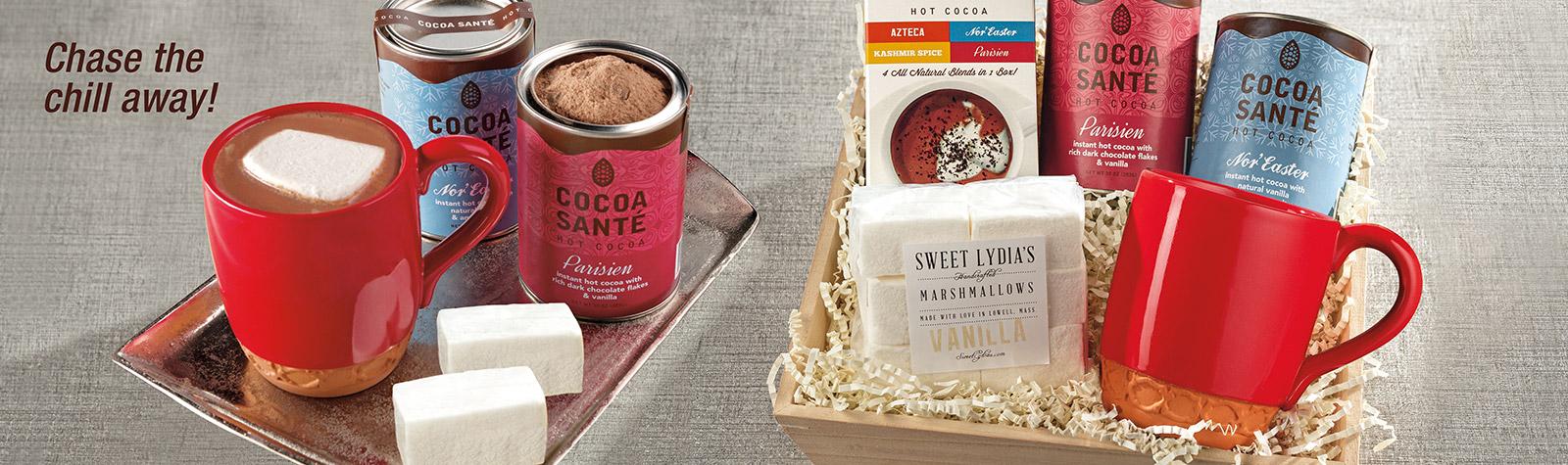 Cocoa Sante hot cocoa