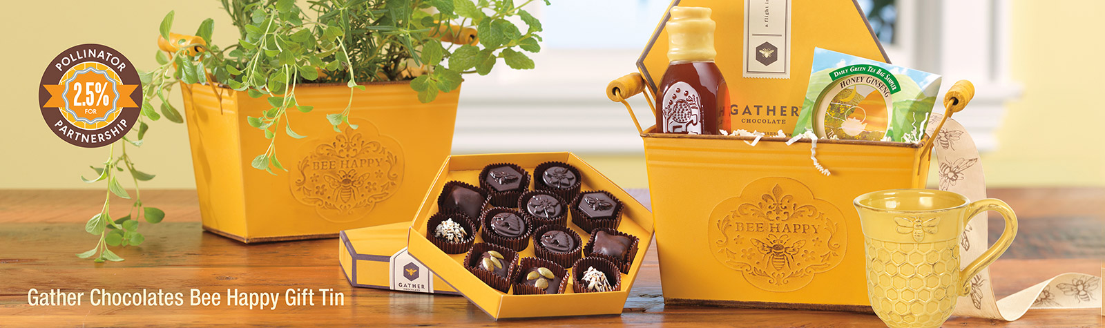 Gather Chocolate Gifts - Harbor Sweets