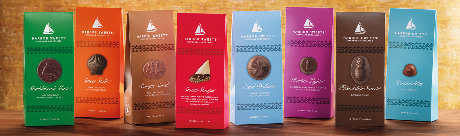 Gable Boxes - Harbor Sweets