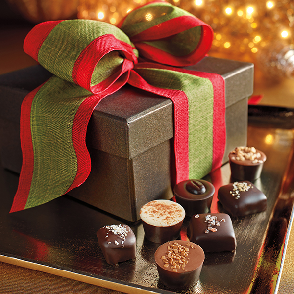 Christmas Box Business Chocolate Gift - Harbor Sweets