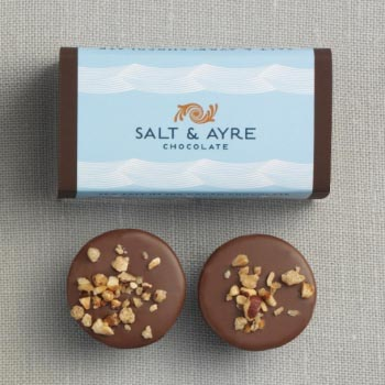 Salt & Ayre - Hazelnut Truffle 2 pc