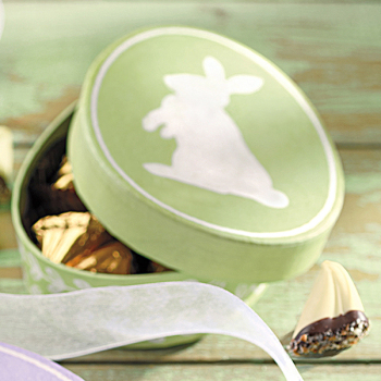Green Bunny Egg with Sweet Sloops