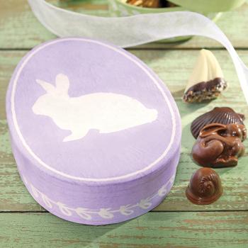Purple Bunny Egg Assortment