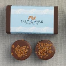 Salt & Ayre - Café Au Lait Truffle 2 pc
