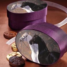 Dark Horse Chocolate 'Amando & Onne' Fabric Box