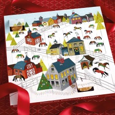 Dark Horse Chocolate Advent Calendar Holiday Horseplay