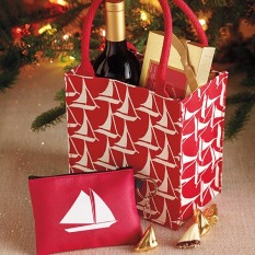 Sailboat Tote - 12 pc