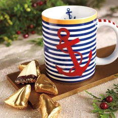 Nautical Mug w/12 Sweet Sloops