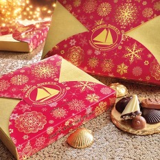 Snowflake Wrap Classic Gift Asst - 30pc