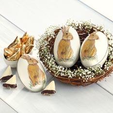 Bunny Tin Egg