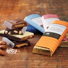 Harbor Sweets Chocolate Bars - Dark Chocolate & Caramel with Sea Salt