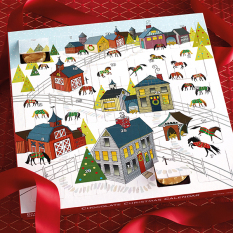 Dark Horse Chocolate Advent Calendar Holiday Horseplay