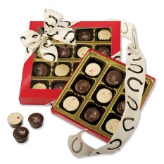 Dark Horse Chocolate Peppermint Truffles - 16 Pc