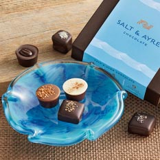 Salt & Ayre Assortment with Candy Dish